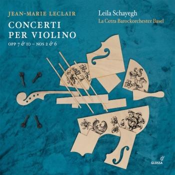 Cover Leclair: Violin Concertos