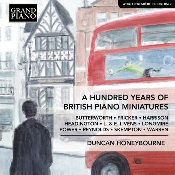 Cover A Hundred Years of British Piano Miniatures