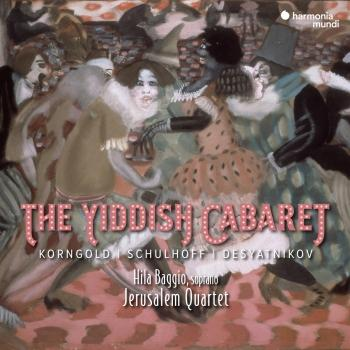 Cover The Yiddish Cabaret