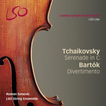 Cover Tchaikovsky: Serenade for Strings in C - Bartók: Divertimento