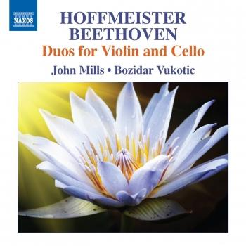 Cover Hoffmeister & Beethoven: Duos for Violin & Cello
