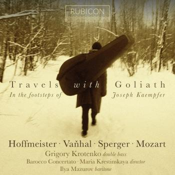 Cover Travels with Goliath, In the footsteps of Josef Kämpfer