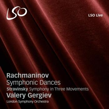 Cover Rachmaninov: Symphonic Dances / Stravinsky: Symphony in 3 Movements