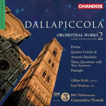 Cover Dallapiccola, L.: Orchestral Works, Vol. 2