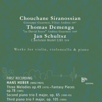 Cover Hans Huber: Works for Violin, Violoncello and Piano