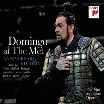 Cover Plácido Domingo at the MET