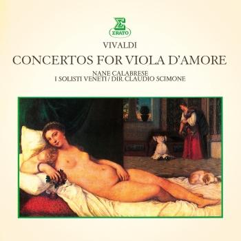 Cover Vivaldi: Concertos for Viola d'amore (Remastered)