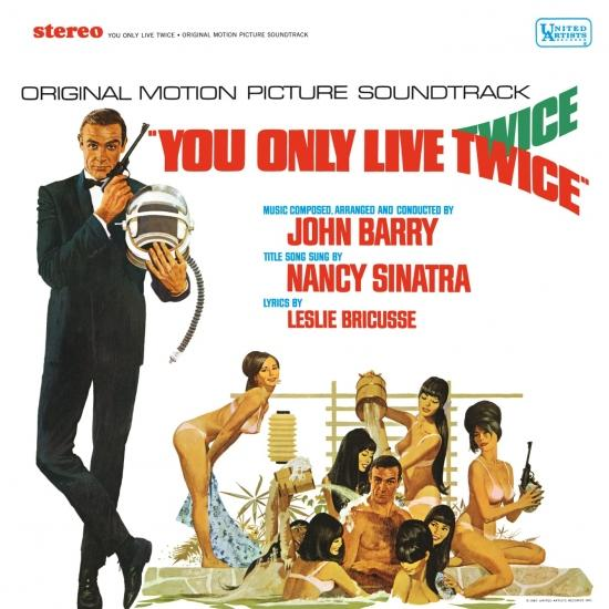 Cover You Only Live Twice (Original Motion Picture Soundtrack)