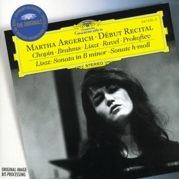 Cover Martha Argerich - Debut Recital