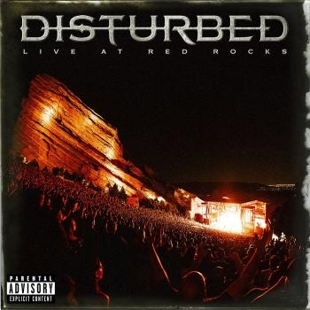 Cover Disturbed - Live at Red Rocks