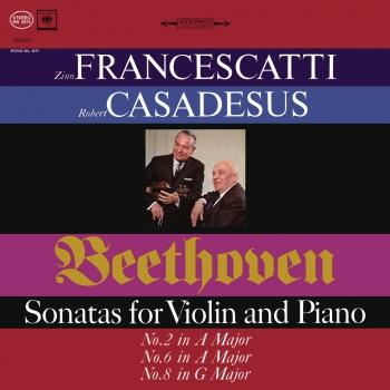 Cover Beethoven: Violin Sonatas 2, 6 & 8 (Remastered)