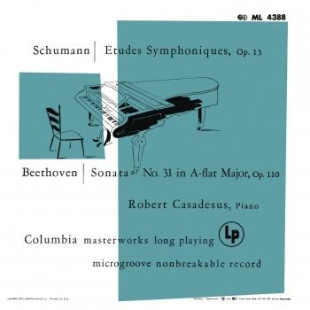 Cover Schumann: Symphonic Etudes for Piano - Beethoven: Piano Sonata No. 31 (Remastered)