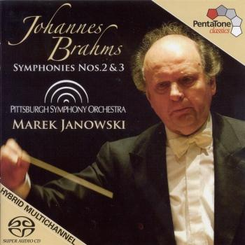 Cover Brahms: Symphonies Nos. 2 and 3