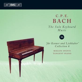 Cover C.P.E. Bach: The Solo Keyboard Music, Vol. 36