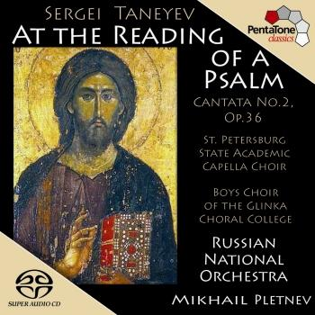 Cover Taneyev: At the Reading of A Psalm, Op. 36, Cantata No. 2
