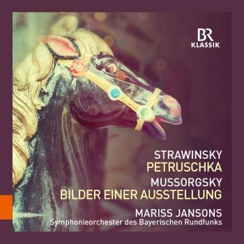 Cover Stravinsky: Petrushka / Mussorgsky: Pictures at an Exhibition (Live)