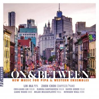 Cover On & Between: New Music for Pipa & Western Ensembles