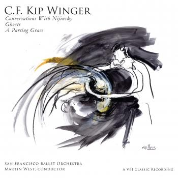 Cover C.F. Kip Winger: Conversations with Nijinsky, Ghosts & A Parting Grace