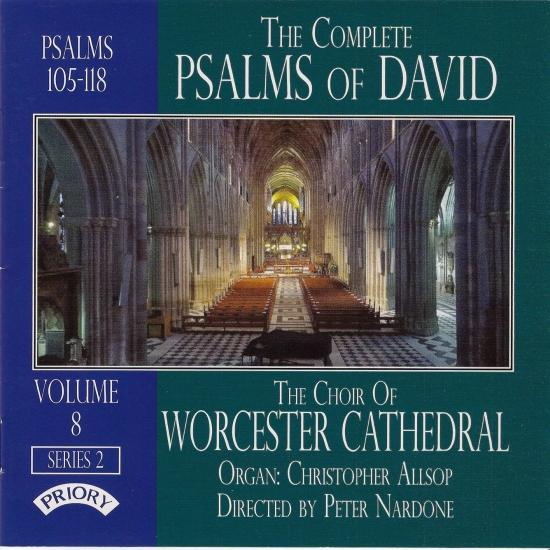 Cover The Complete Psalms of David, Vol. 8