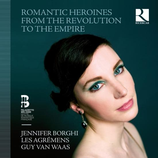 Cover Romantic Heroines from the Revolution to the Empire