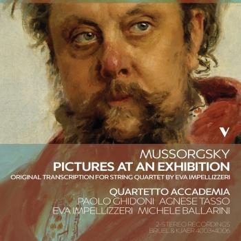 Cover Mussorgsky: Pictures at an Exhibition (Arr. E. Impellizzeri for String Quartet)