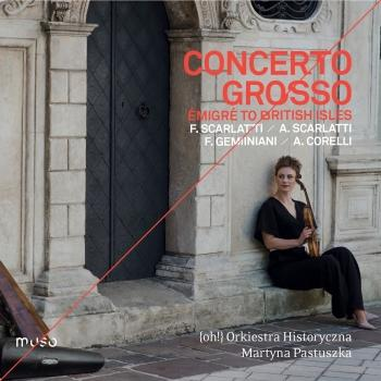 Cover Concerto grosso 'émigré to the British Isles'