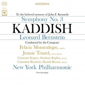 Cover Bernstein: Symphony No. 3 'Kaddish' (Remastered)