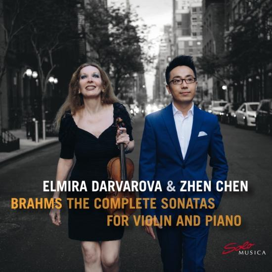 Cover Brahms: The Complete Sonatas for Violin and Piano