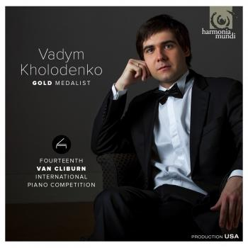 Cover Gold Medalist Van Cliburn International Piano Competition. Works by Liszt and Stravinsky