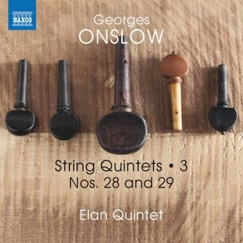 Cover Onslow: String Quintets, Vol. 3 – Nos. 28 & 29