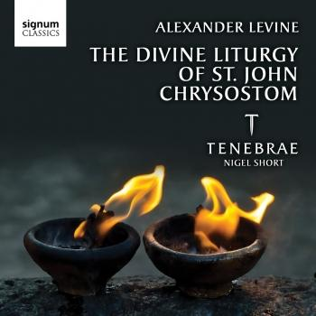 Cover Levine: The Divine Liturgy of St John Chrysostom