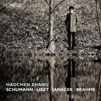 Cover Piano Works by Schumann, Liszt, Janacek & Brahms Piano Works