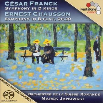 Cover Franck: Symphony in D Minor / Chausson: Symphony in B Flat Major