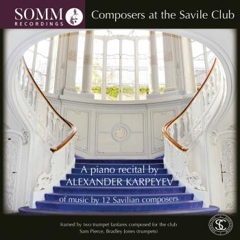 Cover Composers at the Savile Club