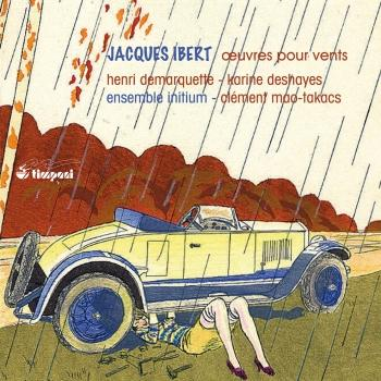 Cover Ibert: Oeuvres pour vents