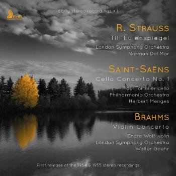 Cover Strauss, Saint-Saëns & Brahms: Orchestral Works (Remastered)