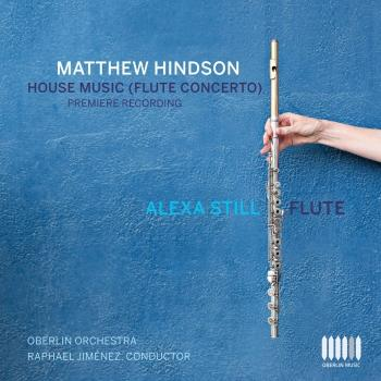Cover Matthew Hindson: Flute Concerto House Music