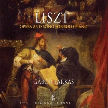 Cover Liszt: Opera & Song for Solo Piano