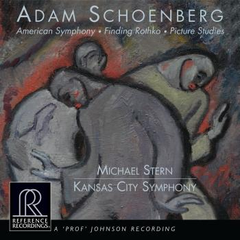 Cover Adam Schoenberg: American Symphony, Finding Rothko & Picture Studies