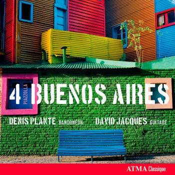 Cover 4 Piazzolla Buenos Aires