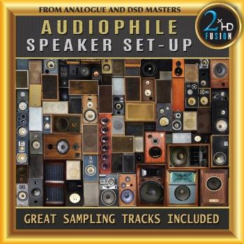 Cover Audiophile Speaker Set-Up