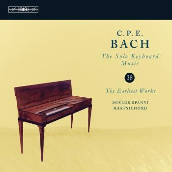 Cover C.P.E. Bach: Solo Keyboard Music, Vol. 38