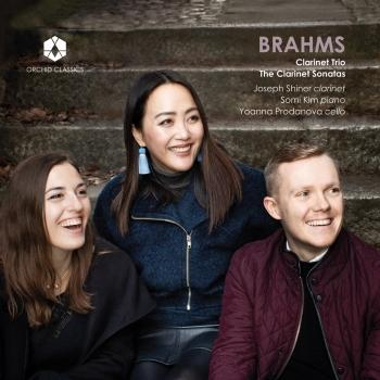 Cover Brahms: Clarinet Trio, The Clarinet Sonatas