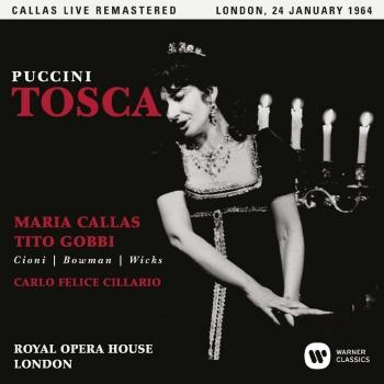 Cover Puccini: Tosca (1964 - London) - Live Remastered