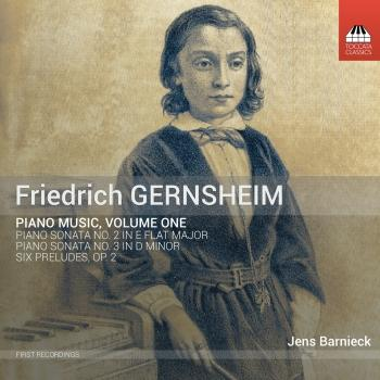 Cover Gernsheim: Piano Music, Vol. 1