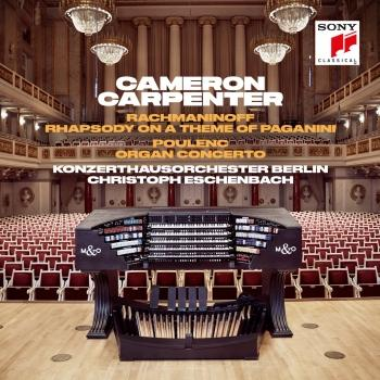 Cover Rachmaninoff: Rhapsody on a Theme of Paganini & Poulenc: Organ Concerto