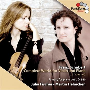 Cover Schubert: Complete Works for Violin and Piano, Vol. 2