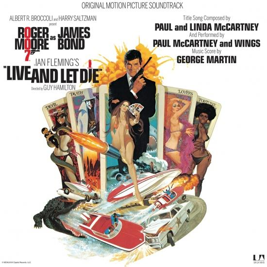 Cover Live And Let Die (Original Motion Picture Soundtrack)