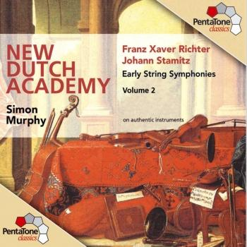 Cover Stamitz / Richter: Early String Symphonies, Vol. 2