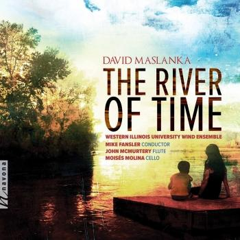 Cover The River of Time